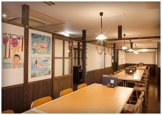 個室居酒屋 6年4組:大教室もあります。