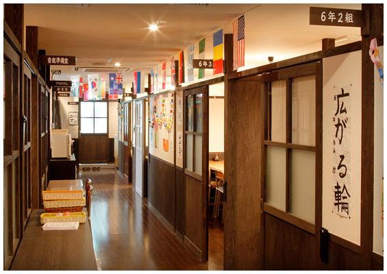個室居酒屋 6年4組:走るの厳禁、大廊下!