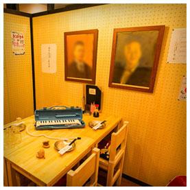 個室居酒屋 6年4組:オルガンまである音楽室